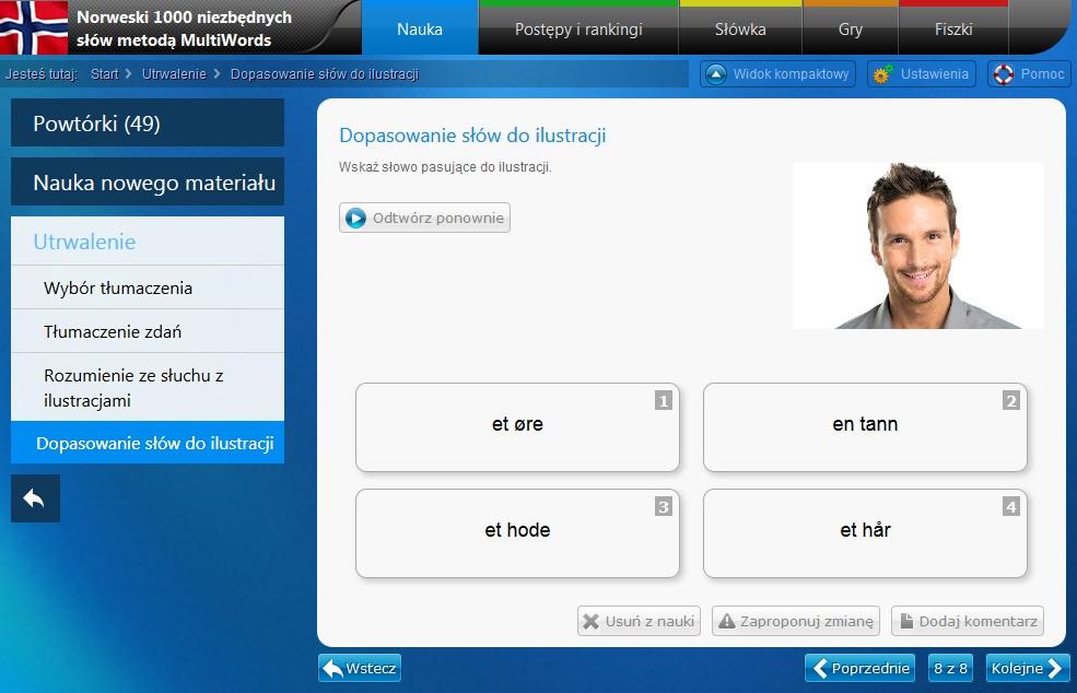 Norweski online