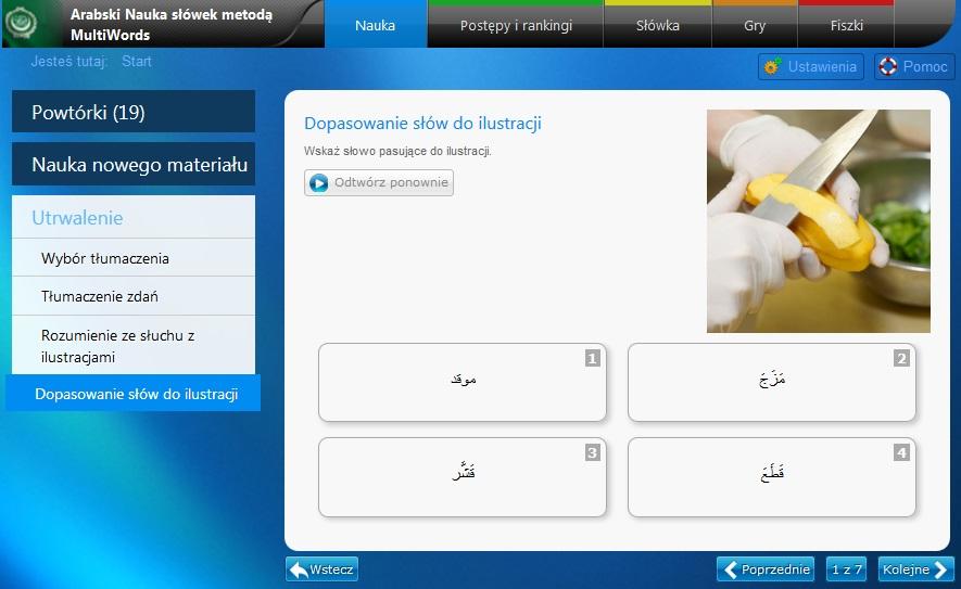 MultiSłówka - arabski nauka