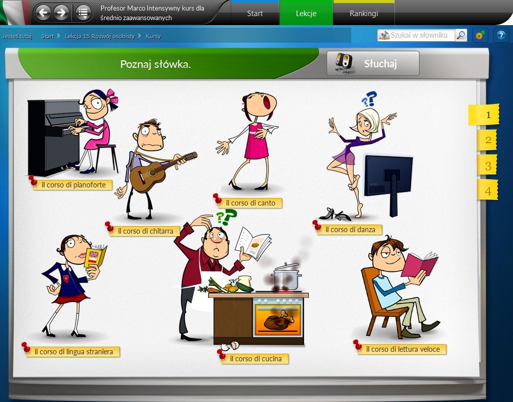 Profesor Marco - kompletny kurs włoskiego online