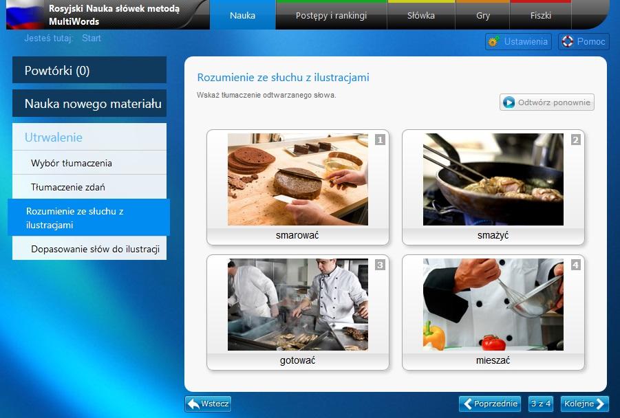 Rosyjski słówka online